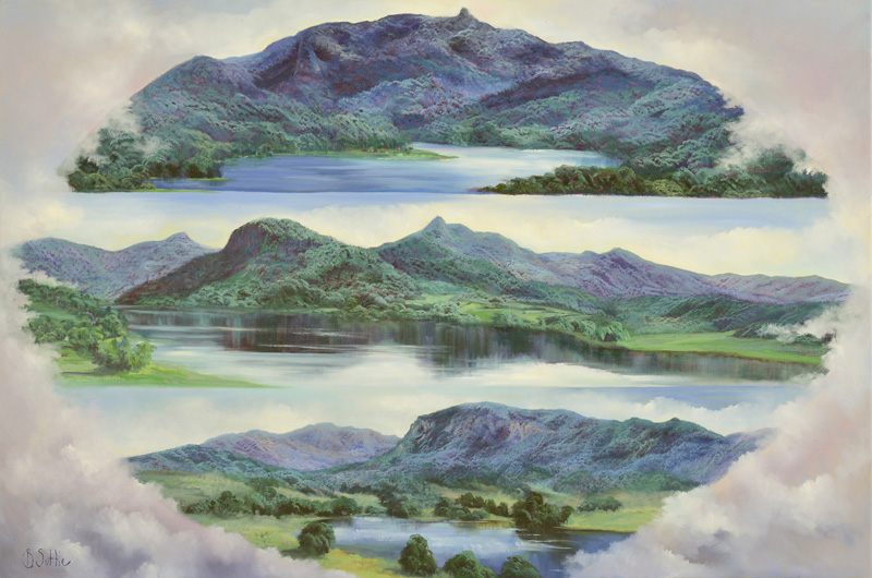 Earth, Air and Water by Barb Suttie