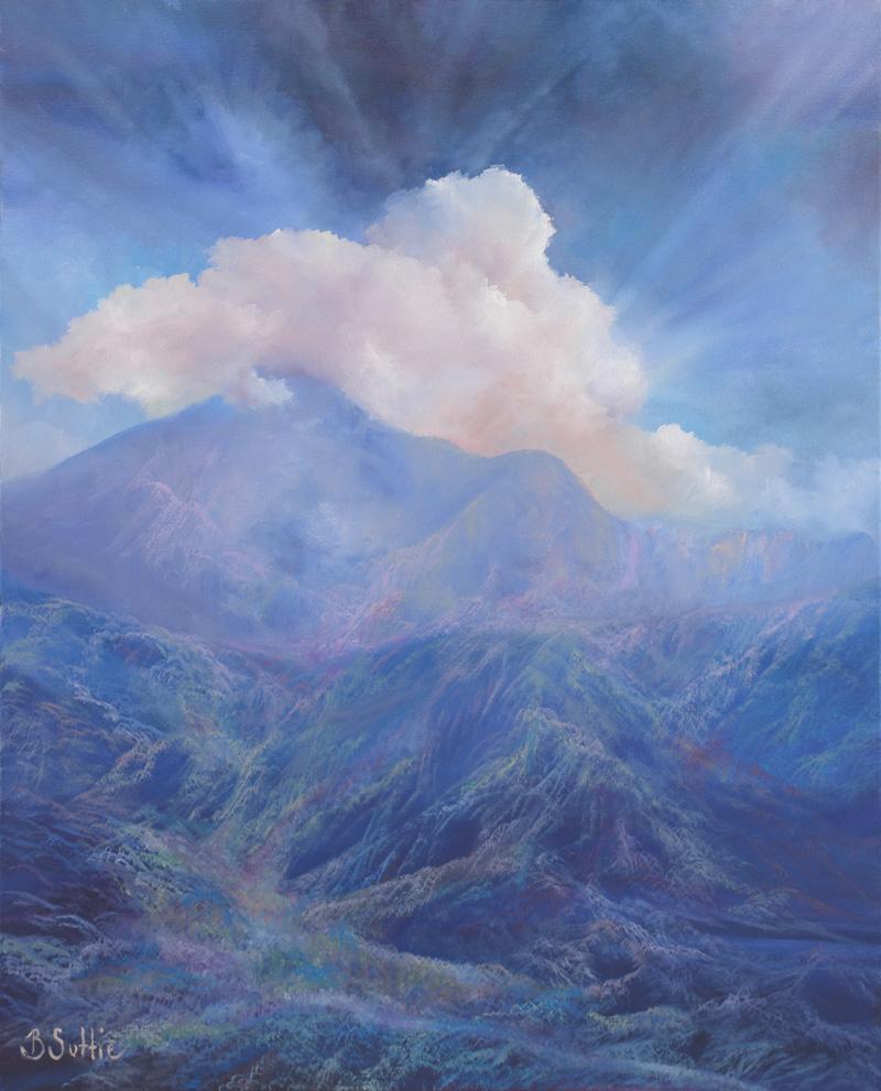 Majestic Mt Warning by Barb Suttie