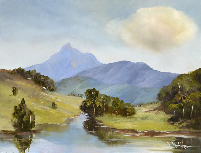 Mt Warning Delight by Barb Suttie