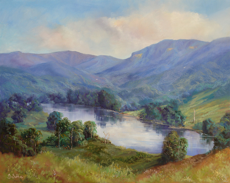 Towards Springbrook by Barb Suttie