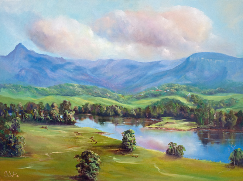View to the Ranges by Barb Suttie