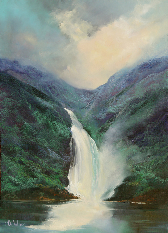 Waterfall by Barb Suttie